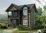 木质部件,木线条,们窗,木质房屋 亚洲  - 木屋