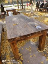 Muebles - Venta Mesas De Jardín Tradicional Madera Africana Teak China