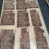 批发木皮 - 采购或销售木皮复合板 - 天然单板, 黑胡桃木, 树节