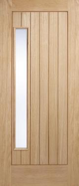 Готовые Изделия (Двери, Окна И Т.д.) - Североамериканские Лиственные, Двери, Древесина Массив, Белый Дуб