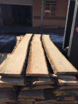 Hardwood  Unedged Timber - Flitches - Boules - White Oak Loose Timber FSC 30 mm