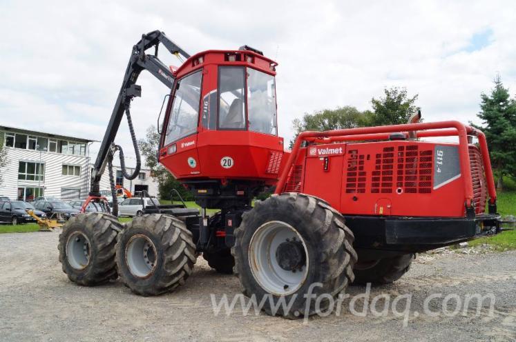 Used-Valmet-911-4---8352-H-2010-Harvester