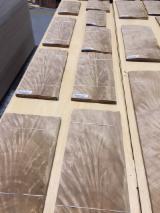 批发木皮 - 采购或销售木皮复合板 - 天然单板, 杜花柬木, 分叉