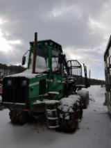 Forest & Harvesting Equipment - Used Skogjan 2001 Forwarder Romania