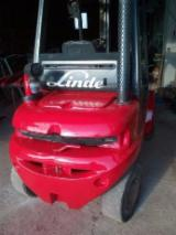 Linde Woodworking Machinery - Used Linde 2008 Forklift For Sale Romania