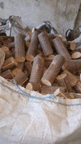 Firewood, Pellets And Residues - Beech Wood Briquets 50 mm