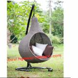 Garden Furniture - Poly Rattan Hanging Chairs