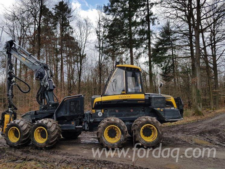 Used-Ponsse--Ergo-8w---1452-H-2016-Harvester