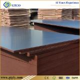 China Supplies - 18 mm Poplar Film Faced Construction Marine Plywood