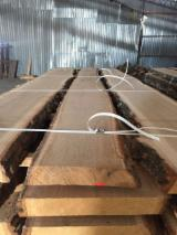 Hardwood  Unedged Timber - Flitches - Boules - Oak timber