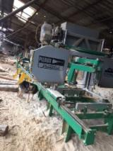 Pilous Woodworking Machinery - Used Pilous Log Band Saw Horizontal For Sale Romania