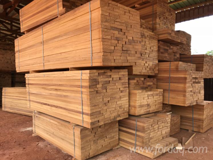 Iroko-sawn-timber