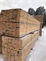 Rășinoase  Cherestea Tivită, Lemn Pentru Construcții Structuri, Grinzi Pentru Schelete, Capriori - Vand Structuri, Grinzi Pentru Schelete, Capriori Pin Rosu, Molid 40+ mm in Eastern Europe