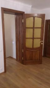 Wood Doors, Windows And Stairs - Solid Acacia / Brown Ash / Oak Doors