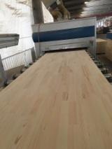 Kenarından Lamine Paneller Satılık - 1 Ply Solid Wood Panel, Çam  - Redwood