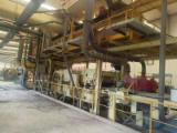 Used MDF roll press line/Used MDF multi layers line