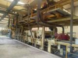 Used MDF roll press line/Used MDF multi layers line