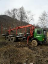 Camioane Transport Busteni Lungi - Vand camion forestier 6x6