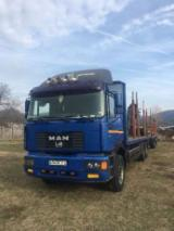 Camion Transport Busteni - Camion Forestier ,Macara Jonsered