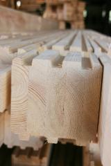 Kupiti Ili Prodati  Čvrsta Strukturna Građa - Građa Spojena Prstima KVH - Čvrsta Strukturna Građa - Građa Spojena Prstima (KVH), Bor  - Crveno Drvo