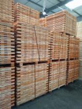Wood Pallets - New Semi Assembled Pallets Latvia