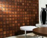 mosaïque en bois à l'intérieur