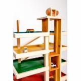 Jucării Din Lemn - Garaj din lemn pt masinute - 400 lei