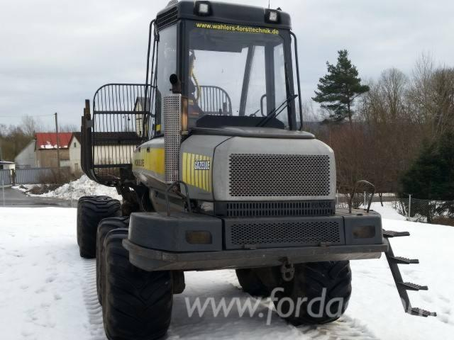 Used-Ponsse-Gazelle---12303-H--2005-Forwarder