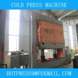 Automatically Fed Press For Veneering Flat Surfaces - plywood cold press