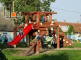 Wholesale Wood Children Games - Swings - Pine / Spruce Children Garden Games