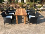 Garden Furniture - Polly Rattan Garden Dining Set