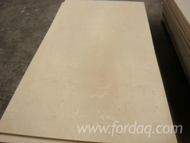 Natural Birch Plywood 18, 30 mm