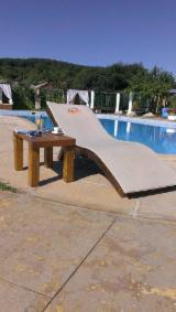 Tilia Garden Furniture - Design Beech / Brown Ash / Tilia Garden Loungers