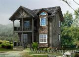 Дерев'яні Будинки - Каркасні Будинки Для Продажу - Ялина-Сосна-Ялиця