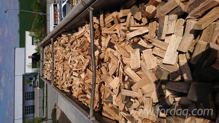 Brennholz Kaminholz Kammer trocken 20% Buche/Eiche 25 - 33 cm lose 85 SRM LKW aus deutscher Herstellung