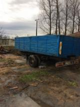 Oprema Za Šumu I Žetvu Kamion Za Prevoz Dužih Stabala - Kamion Za Prevoz Dužih Stabala -- Polovna Rumunija