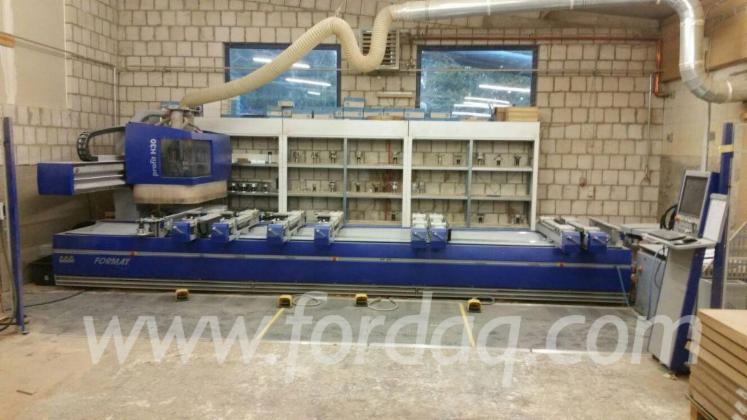 Used-FORMAT-4-Profit-H30-L-E-motion-2013-CNC-Machining-Center-For-Sale
