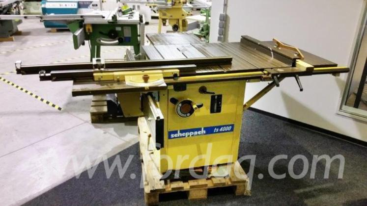 used scheppach ts 4000 1990 circular saw for sale austria. Black Bedroom Furniture Sets. Home Design Ideas