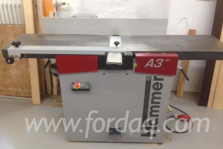 Used HAMMER A3 41 2006 Thicknessing Planer- 1 Side For Sale