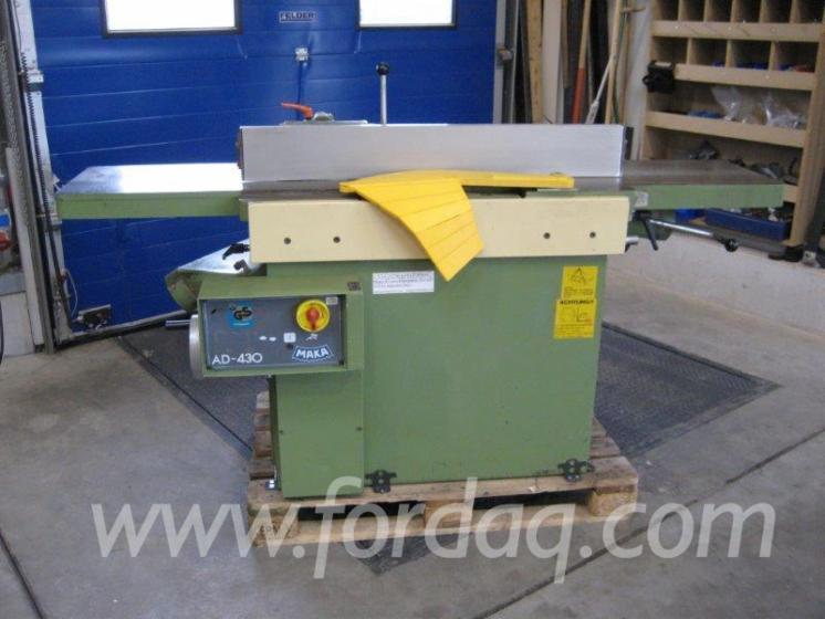 Used-Maka-AD-Thicknessing-Planer--1-Side-For-Sale