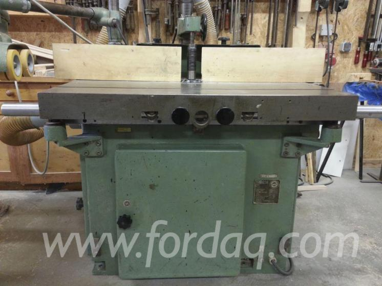 Used-Umaro-MNF-100-F-1980-Moulding-Machines-For-Three--And-Four-side-Machining-For-Sale