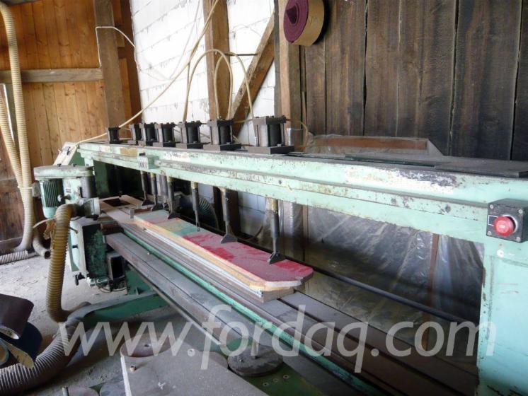 Venta-Moldureras-Para-Trabajar-Tres-Y-Cuatro-Caras-H%C3%A4mmerle-X-Usada-1962