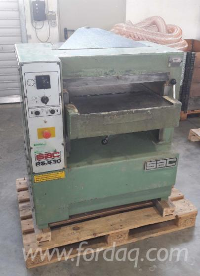 Used-SAC-RS-530-1994-Thicknessing-Planer--1-Side-For-Sale