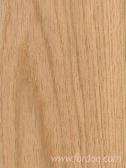 Natural Red Oak Crown And Quarter Cut Veneer