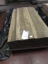批发木皮 - 采购或销售木皮复合板 - 天然单板, 胡桃木, 向下刨平