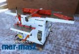 Поверхневий шарнір - товщина SCM FS 50, верстат для верстатобудувача + дриль