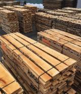 Laubholz  Blockware, Unbesäumtes Holz Ukraine - Einseitig Besäumte Bretter, Birke