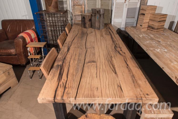 Vend Tables Antiquité Feuillus Européens Chêne