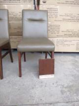 Living Room Furniture - Upholstered Rubberwood Chairs