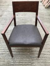 Buy Or Sell  Armchairs - Modern Beech Armchair with Comfortable Upholstered Seat